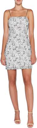 Bardot Angie Floral Jacquard Sheath Minidress