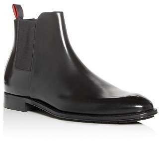 HUGO Men's Allure Leather Chelsea Boots