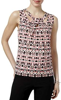 Nine West Women's Printed Ity Criss Cross Cami (2)