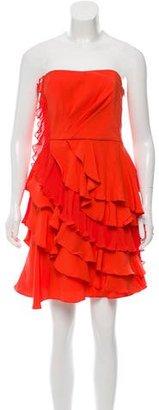 Ali Ro Silk Pleated Dress $95 thestylecure.com