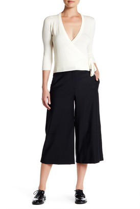 Theory Halientra Cropped Wool Blend Pant $325 thestylecure.com