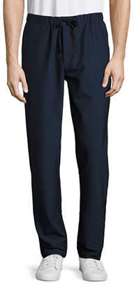Theory Lumo Drawstring Seersucker Pants