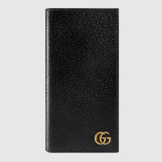 Gucci GG Marmont leather long ID wallet