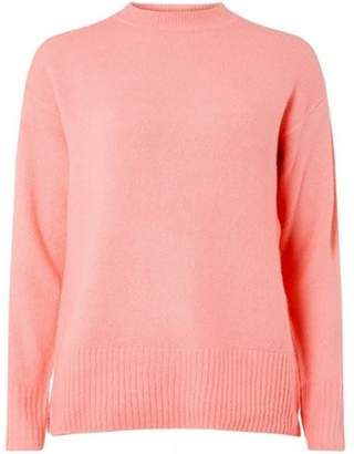 Dorothy Perkins Womens Pink Crew Neck Jumper