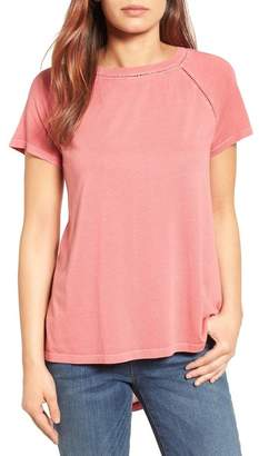 Caslon Lace Back Swing Tee (Regular & Petite)