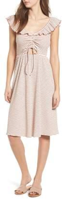 Moon River Stripe Knit Dress