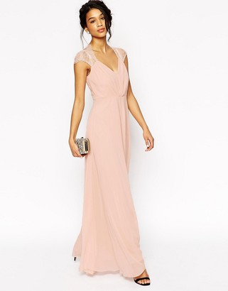 ASOS Kate Lace Maxi Dress $103 thestylecure.com