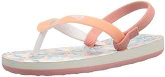Roxy Kids' TW Tahiti Flip Flop Sandal Flat