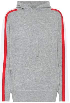 Jardin des Orangers Striped wool and cashmere hoodie