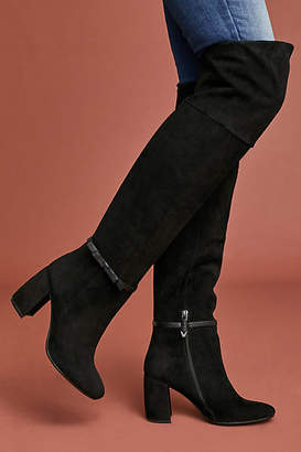 Bruno Premi Suede Knee-High Boots