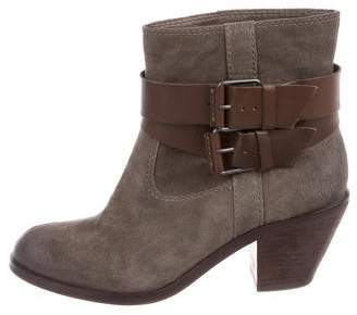 Ash Nikita Suede Ankle Boots