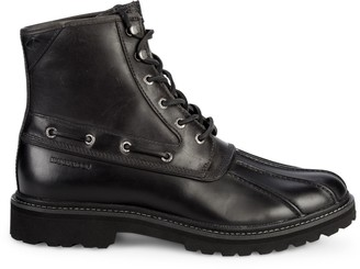 Sperry Leather Lace-Up Boots