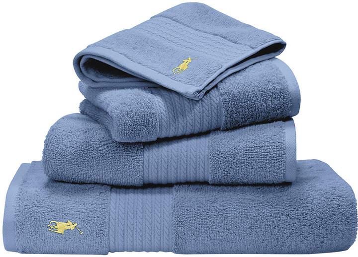 Player Towel - Blue - Bath Towel