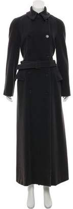 Calvin Klein Collection Wool-Blend Long Coat