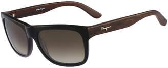 Salvatore Ferragamo Men's Sf686s 56Mm Sunglasses