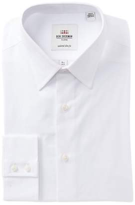 Ben Sherman Brighton Point Solid Slim Fit Dress Shirt