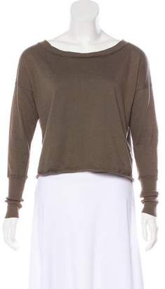 Alice + Olivia Cashmere-Blend Long Sleeve Sweater