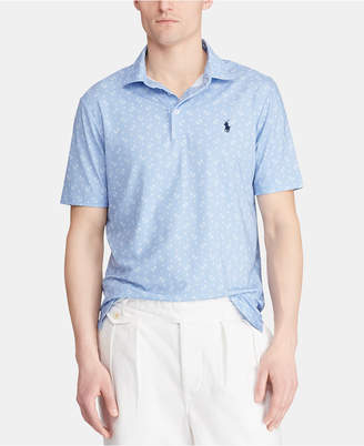 7c868371 Polo Ralph Lauren Men Classic Fit Micro Print Performance Polo