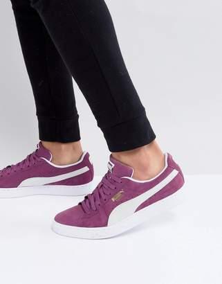 Puma Suede Classic Sneakers In Purple 36534712