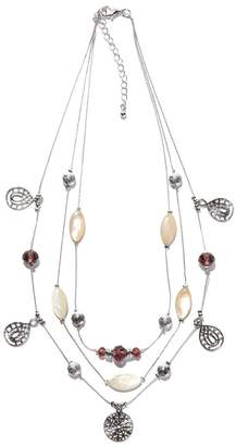 Anne Weyburn Multi-Strand Charm Necklace