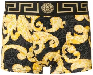 Versace Baroccoflage print boxers
