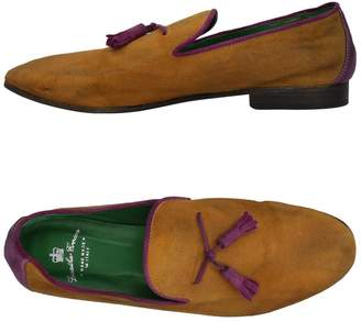 Leather Crown Loafers