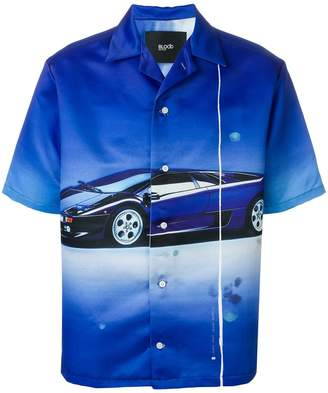 Blood Brother Superfast printed shirt