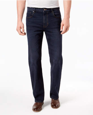 DKNY Men's Relaxed Straight-Fit Stretch Jeans