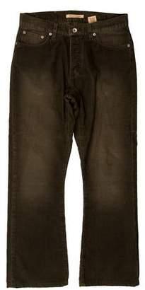 John Varvatos Woven Corduroy Pants