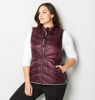 Avenue Spacedye Inset Quilted Vest