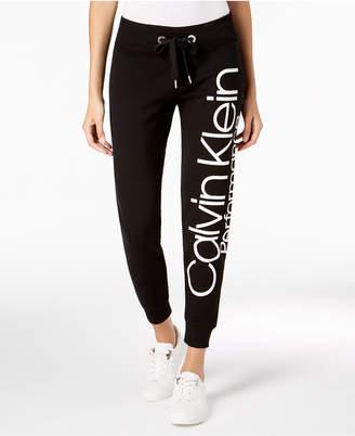 Calvin Klein Fleece Logo Joggers