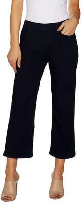 Women With Control Women with Control Petite My Wonder Denim Wide Leg Crop Jeans