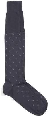 John W. Nordstrom R) Geometric Over-the-Calf Socks