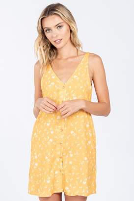 Everly Front Button Dress