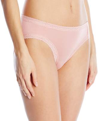 Yummie by Heather Thomson Women's Christine Micro Modal Comfort Lace Hi-Cut Brief