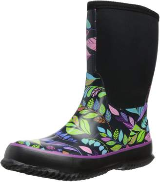 Western Chief Women's Neoprene Fun Leaves Rain Boot