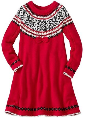 Girls Snö Happy Sweater Dress $69 thestylecure.com