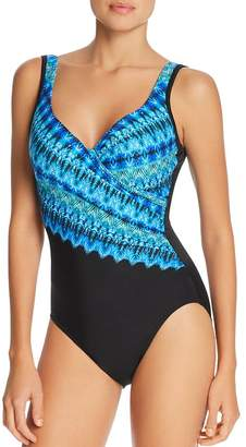 Miraclesuit Cabana Chic It's A Wrap One Piece Swimsuit