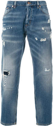 Dondup distressed cropped jeans