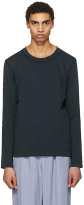 Acne Studios Blue Feman Crewneck Sweater