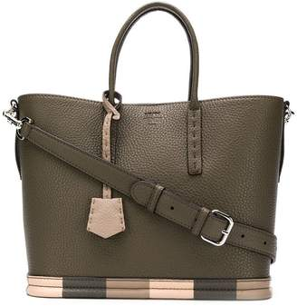 Fendi top handle tote