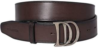 DSQUARED2 40mm Dd Buckle Leather Belt