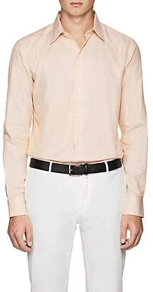 Armani Collezioni MEN'S COTTON DRESS SHIRT