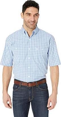 Wrangler Men's George Strait Two Pocket Short Sleeve Button Shirt