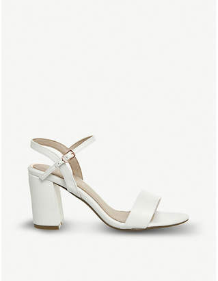 Office Modesty two-part heeled sandals