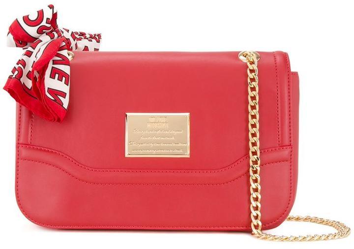 Love MoschinoLove Moschino flap shoulder bag