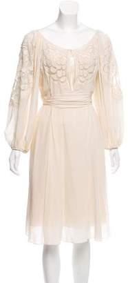 Temperley London Silk Midi Dress w/ Tags