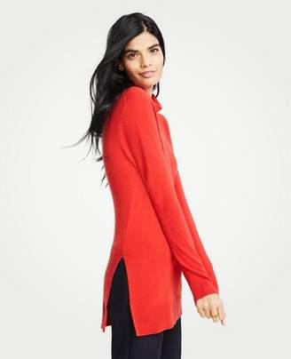 Ann Taylor Petite Turtleneck Tunic Sweater