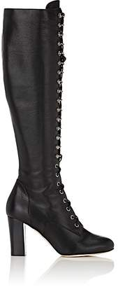 Philosophy di Lorenzo Serafini WOMEN'S LEATHER LACE-UP KNEE BOOTS