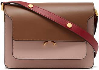 Marni Color-Block Accordion Leather Bag
